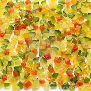 Frutas Cristalizadas Em Cubos Produto A Granel 100g