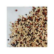 Mix De Grãos De Quinoa Real Branca, Preta E Vermelha Produto A Granel 100g