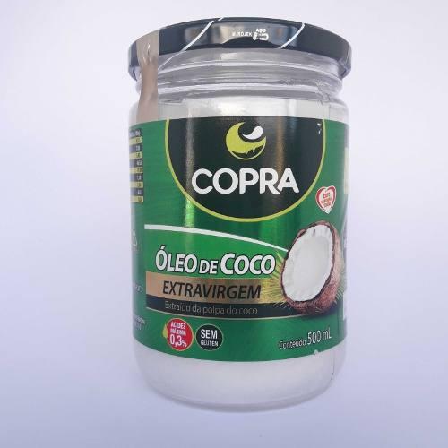 Kit Com 1 Óleo De Coco Extra Virgem Copra 500G + 2 Kg De Adoçante Natural Xylitol Importado
