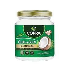 Óleo De Coco Copra 200ml 2 Unidades