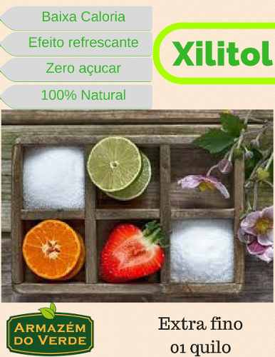 Xylitol Ou Xilitol 1 Quilo