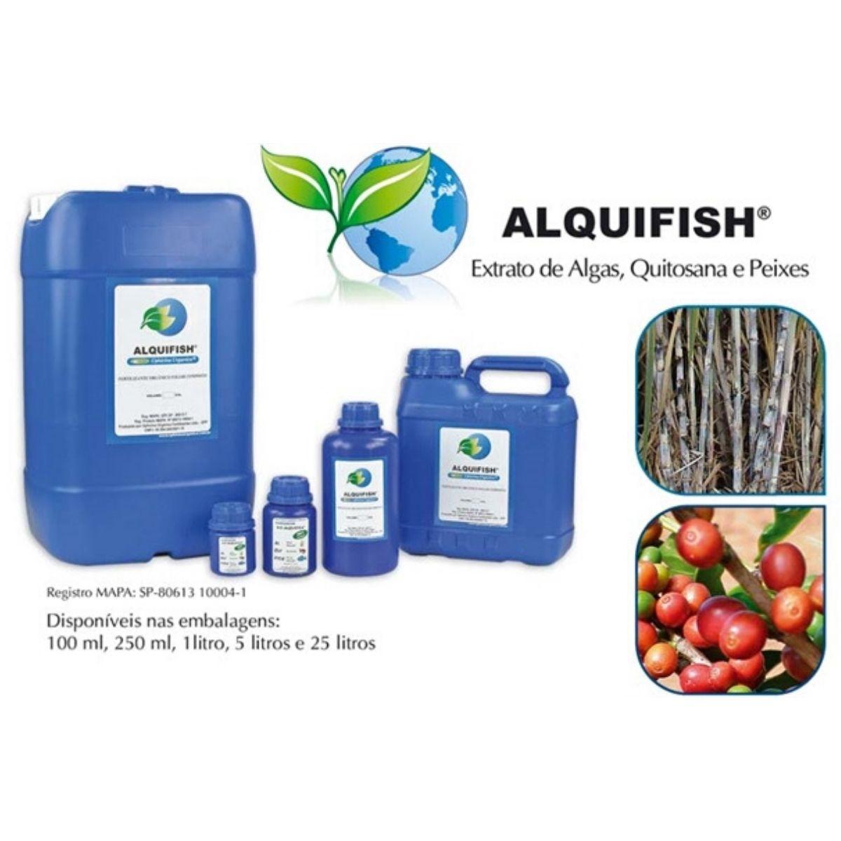 Biofertilizante liquido Bio Alquifish para vaso auto irrigável 250 ml