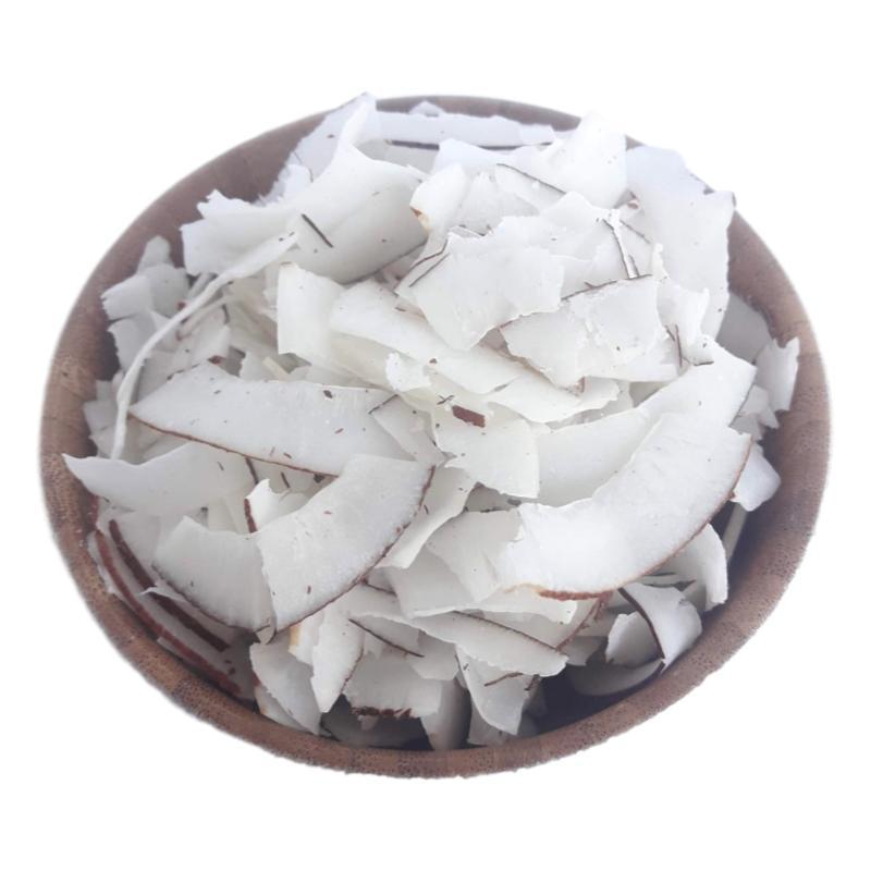 Coco Em Fitas Desidratado Sem Açucar Produto Natural A Granel 200g