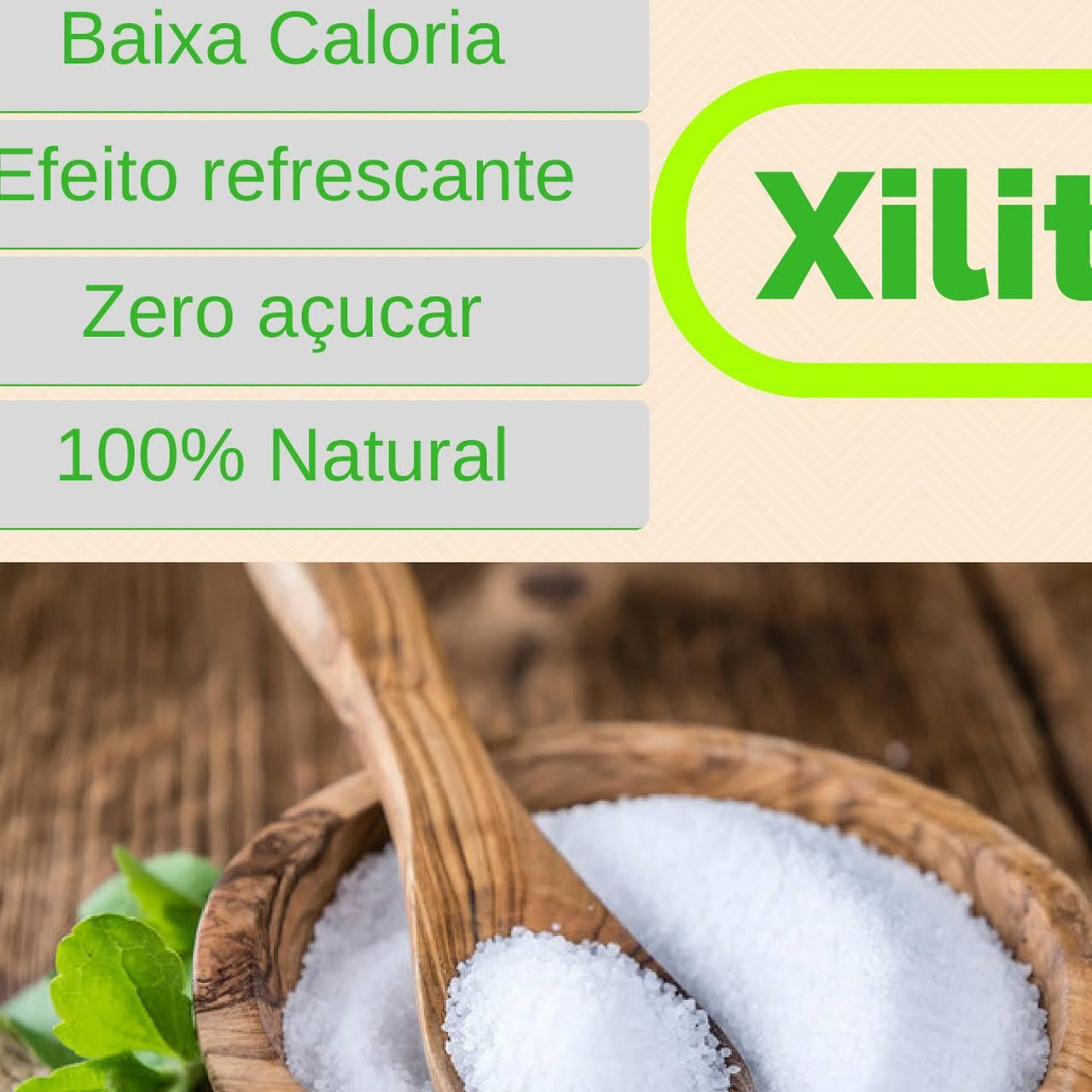 Kit Com 1kg Xilitol + 1kg De Farinha De Castanha De Caju + 1kg De Cacau Alcalino Em Pó