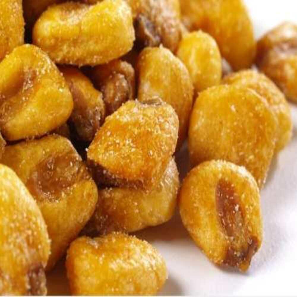 Snack De Milho Peruano Tostado Com Mostarda E Mel Produto Natural A Granel 100g.