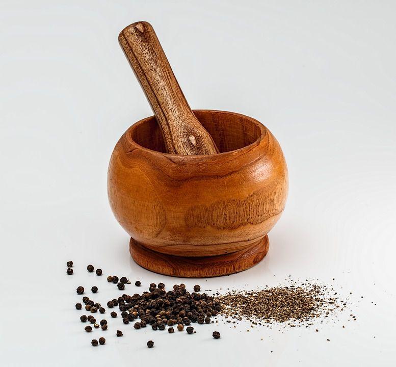 Pimenta Do Reino Preta Em Pó Sem Sal Ideal Para Temperos e Receitas Produto Natural A Granel 100g