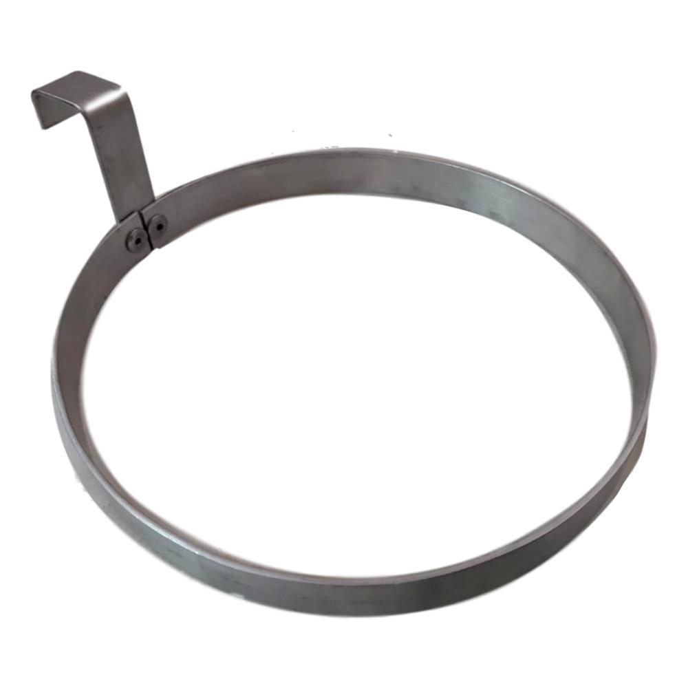 Suporte Para Vaso Em Aluminio Natural 18 cm  - 10 Unidades