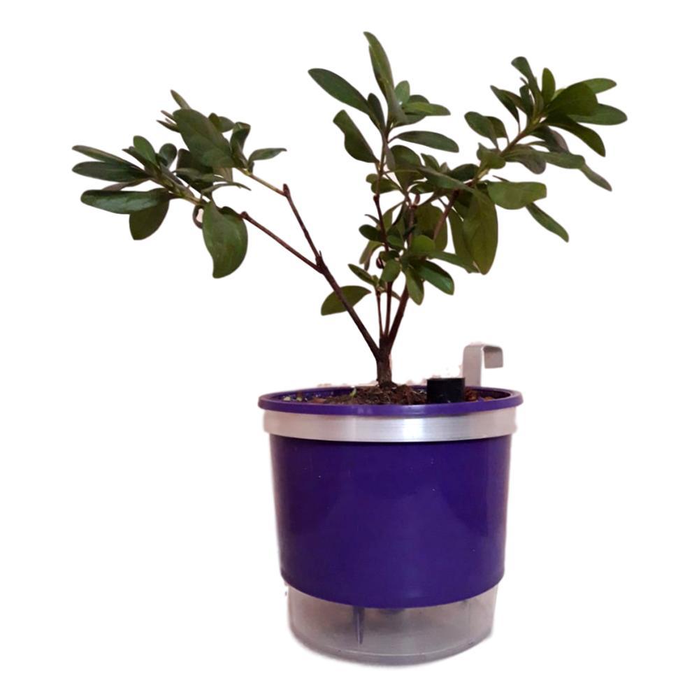 Suportes Para Vaso 13 Centímetros De Diâmetro Em Alumínio Natural Kit Com 10 Unidades