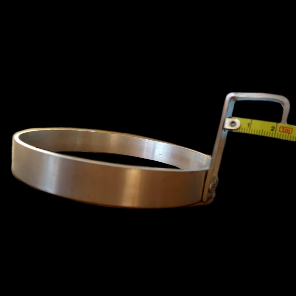 Suporte universal Para Vaso Em Aluminium Natural 16 centímetros de diâmetro
