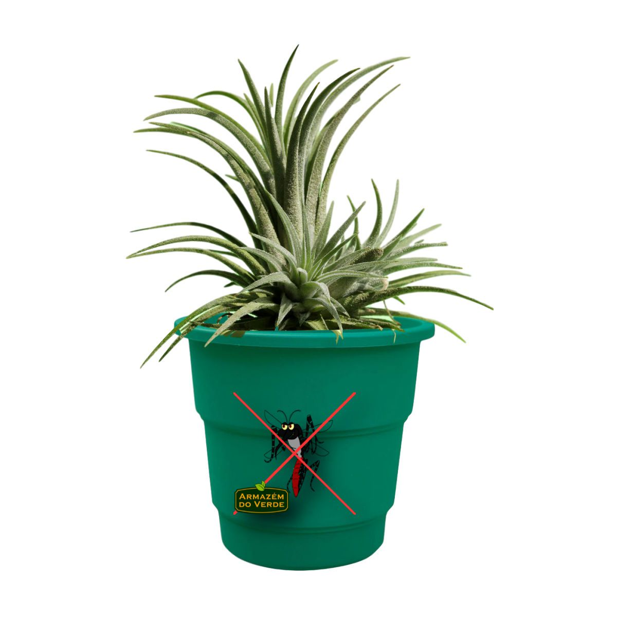 Vaso Para Plantas Anti-Dengue  24 x  22 cm.