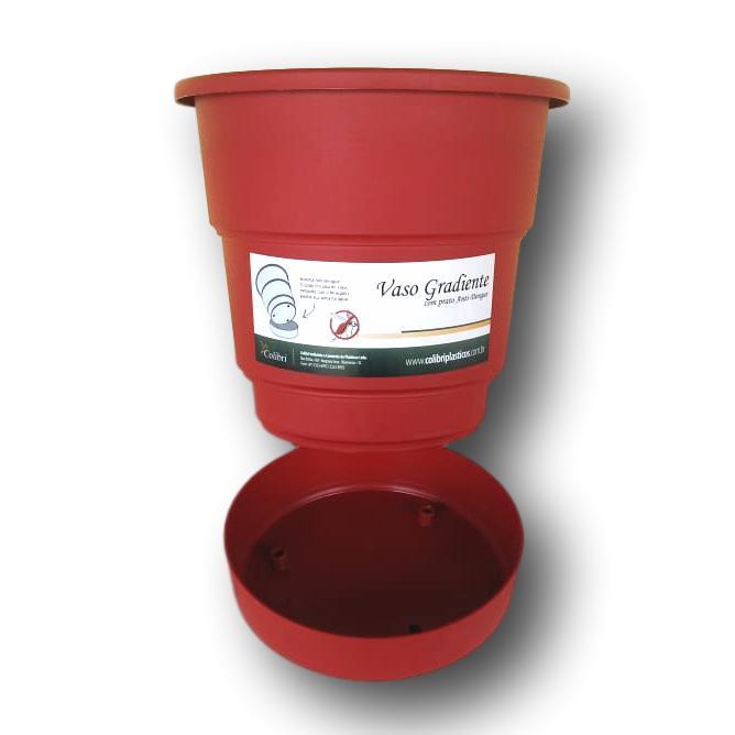 Vaso Anti-Dengue Com Suporte Em Alumínio Incluso