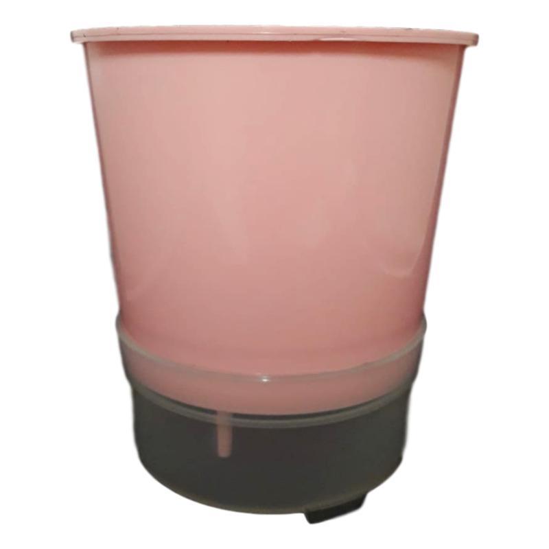 Vaso Auto Irrigável Anti Mosquito 15 cm De Altura - Kit Com 30 Unidades