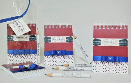 Brinde para Empresas - Bloquinho de Anotações com Mini Lápis Personalizado