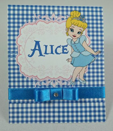 Convite Infantil Alice no País das Maravilhas
