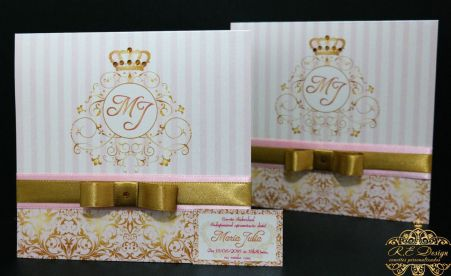 Convite Infantil Princesa