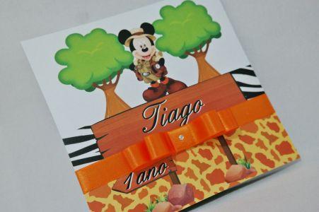 Convite Infantil Safari