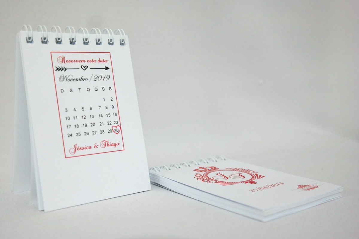 Lembrancinha de Casamento - Bloquinho de Anotações Personalizado