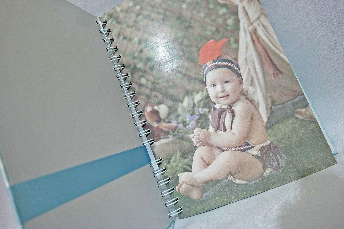 Caderno para Mensagens Infantil Personalizado
