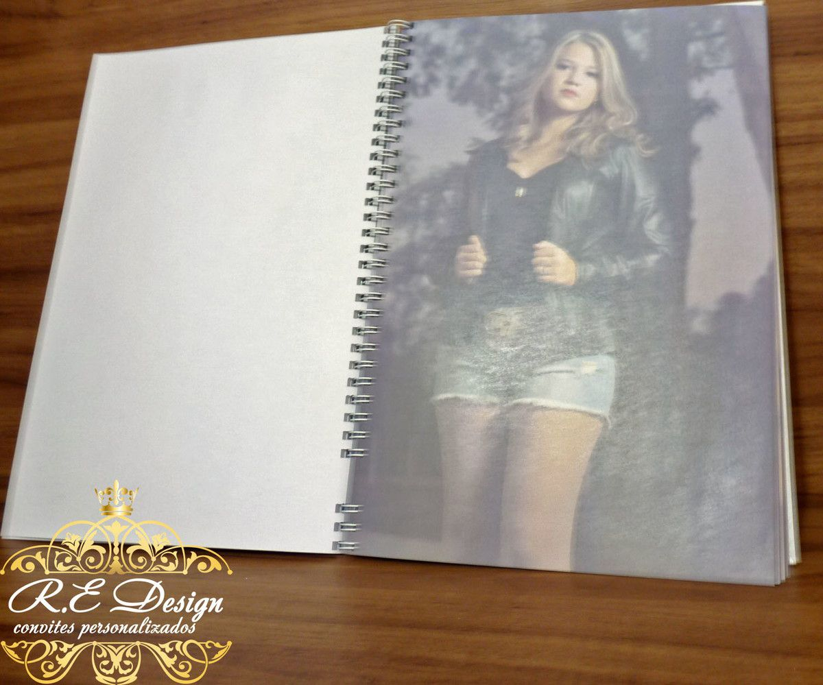 Caderno de Mensagens para 15 anos