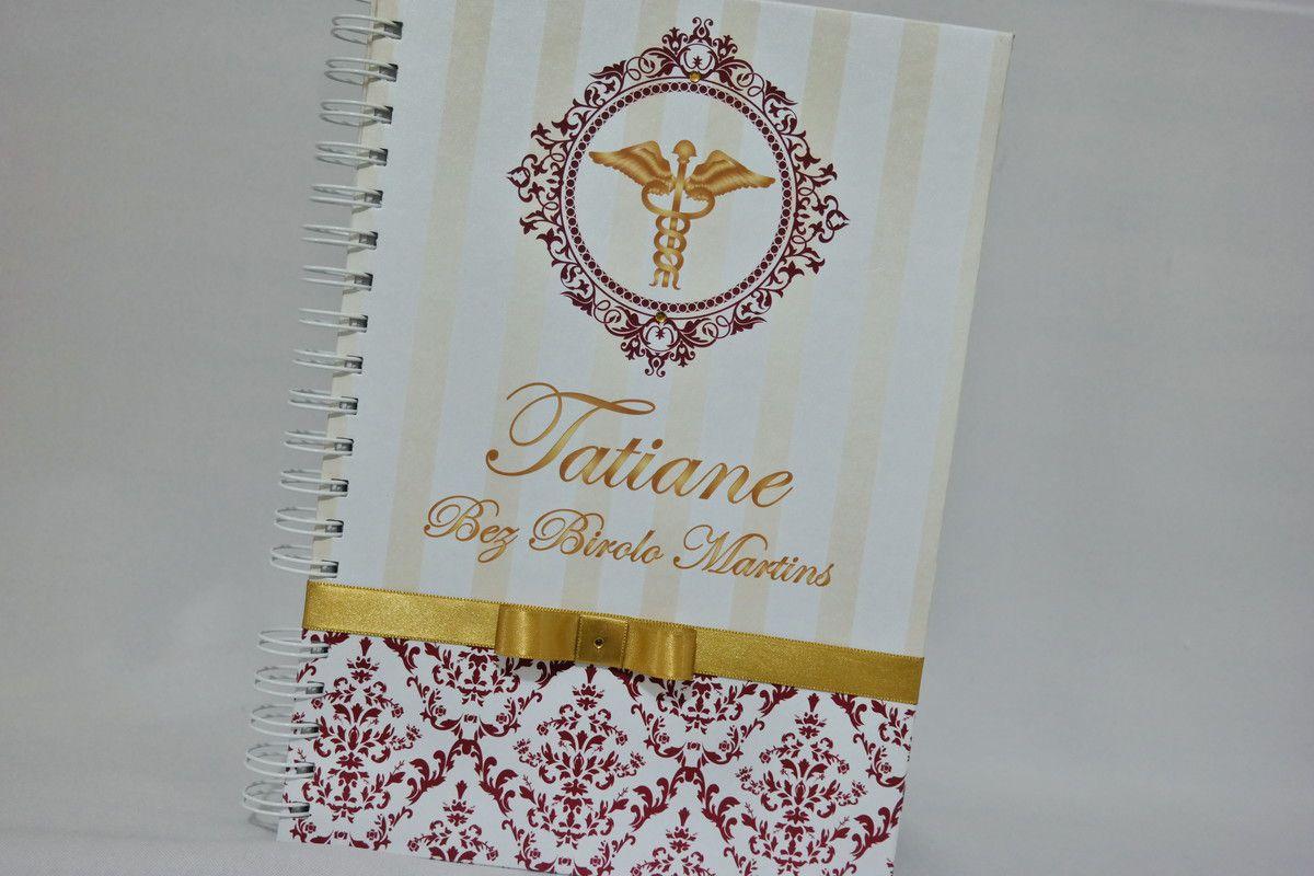 Caderno de Mensagens para Formatura Personalizado