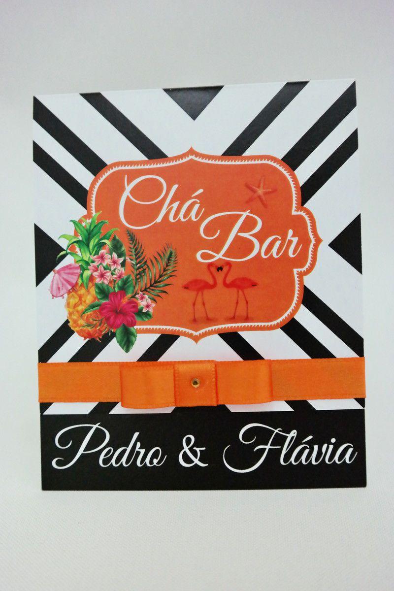 Convite para Chá Bar