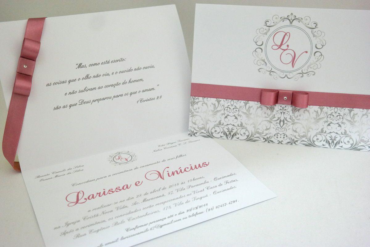Convite de Casamento Nude