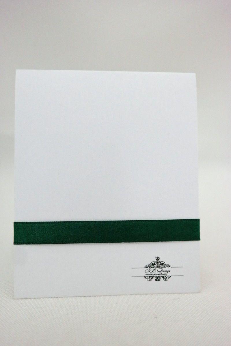 Convite de Formatura Modelo P