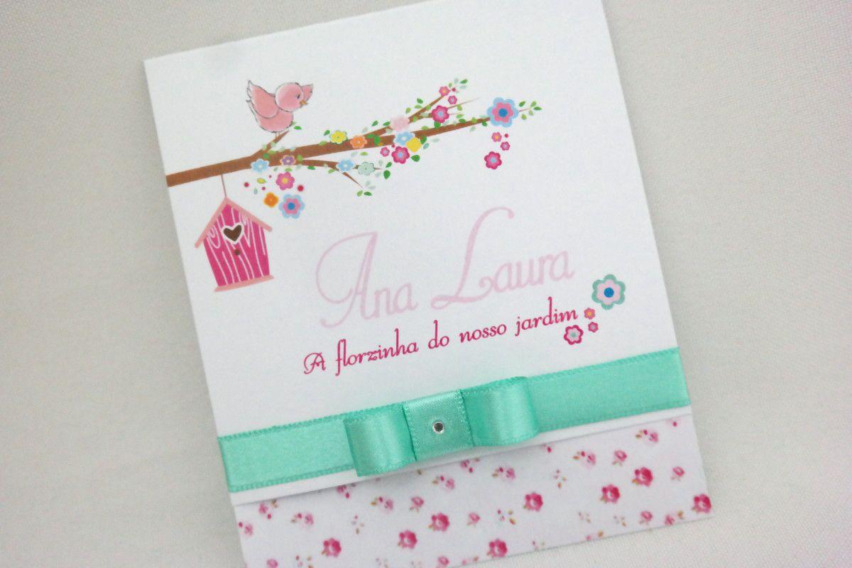 Convite Infantil Jardim Encantado