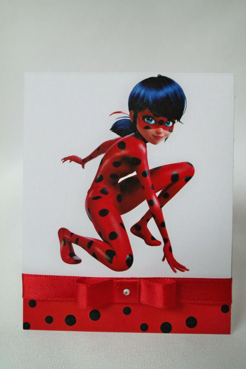 Convite Infantil Lady Bug