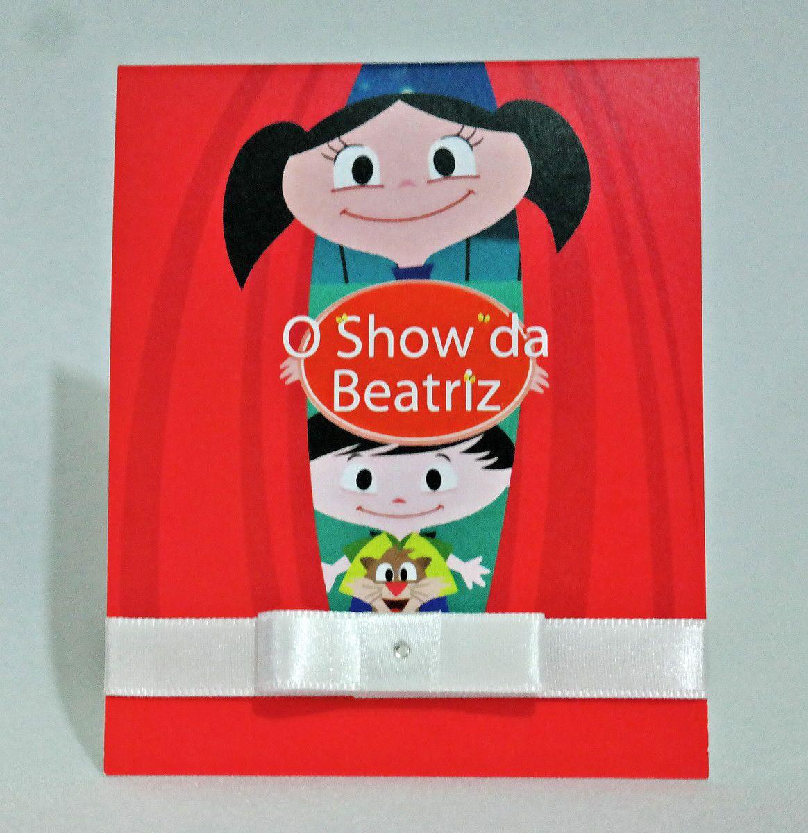 Convite Infantil Show da Luna