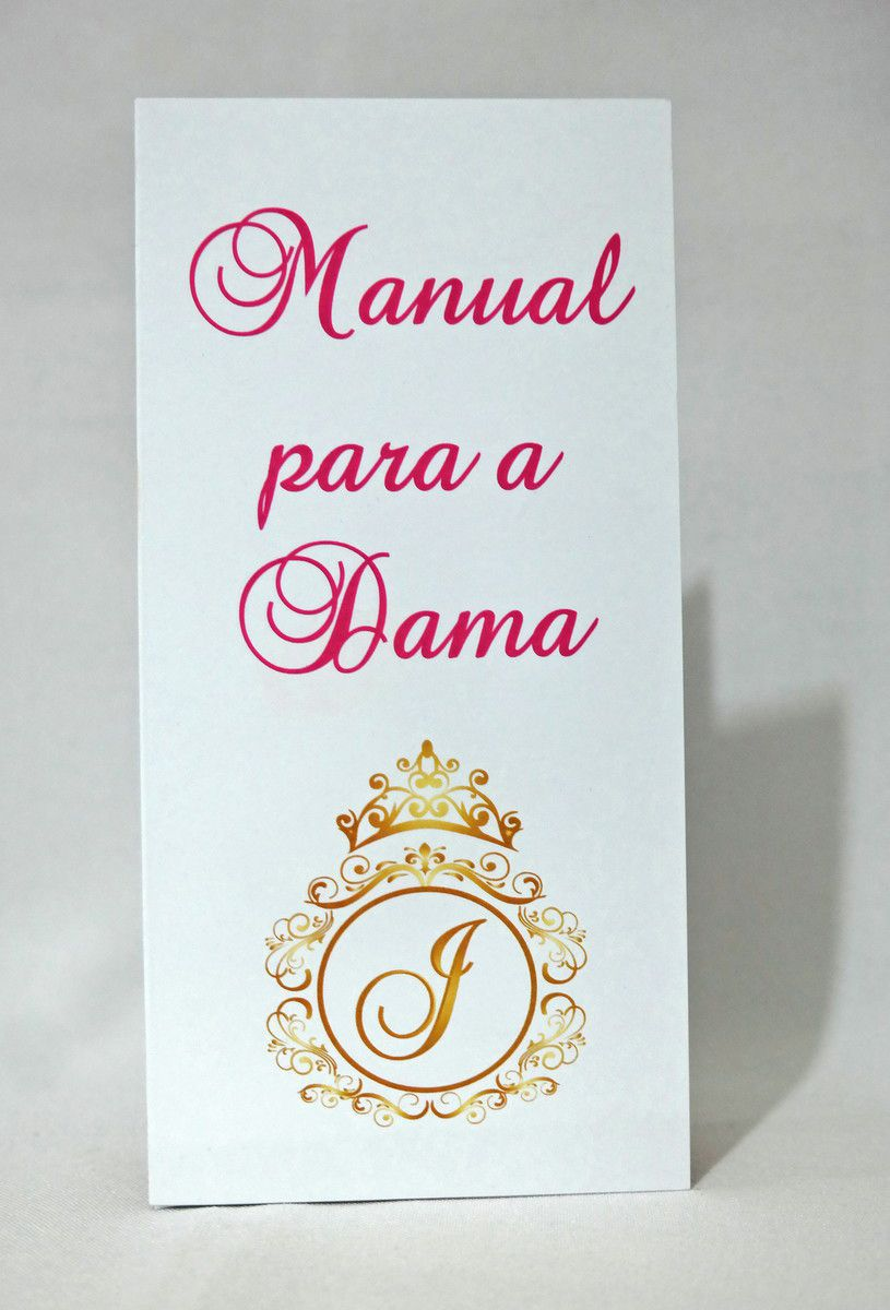 Manual para Damas de 15 anos