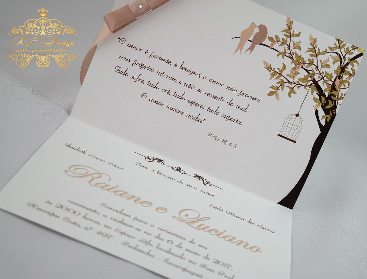 PROMOÇÃO Convite de Casamento