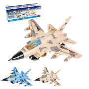 AVIAO A PILHA F-35 COM LUZ E SOM WELLMIX WBU2111