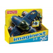 AVIÃO IMAGINEXT SKY RACER SUPER JATO T5308 FISHER-PRICE