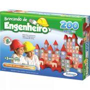 BLOCOS DE MONTAR BRINCANDO DE ENGENHEIRO 200 PECAS XALINGO 5306.5