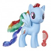 BONECA MY LITTLE PONY RAINBOW DASH AZUL E6839 HASBRO