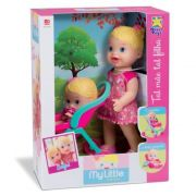 BONECA MY LITTLE TAL MAE TAL FILHA DIVERTOYS 8020