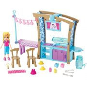 BONECA POLLY POCKET CHURRASCO DIVERTIDO MATTEL DGM17