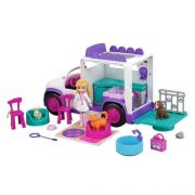 BONECA POLLY POCKET E VEICULO HOSPITAL MOVEL DOS BICHINHOS  MATTEL GFR04