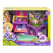 BONECA POLLY POCKET POLLYVILLE CASA DE POLLY GFP42