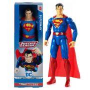FIGURA DE AÇÃO SUPERMAN DC COMICS 30CM  MATTEL GDT49SM