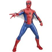 BONECO DE AÇÃO 25 CM SPIDER MAN HOMECOMING TECH SUIT MARVEL HASBRO
