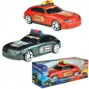 CARRO DE POLICIA E RESGATE NEW CAR 139 BS TOYS
