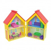 CASINHA DE BONECAS YELLOW HOUSE JUNGES 412