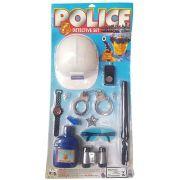 CONJUNTO INFANTIL POLICIAL SUPER DETETIVE PICA PAU 413