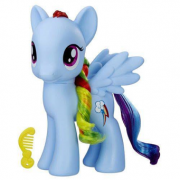 FIGURA MY LITTLE PONY RAINBOW DASH 20CM HASBRO B0368RD