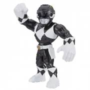 FIGURA POWER RANGERS MEGA MIGHTIES PRETO HASBRO E5873