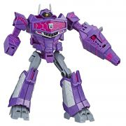 FIGURA TRANSFORMERS CYBERVERSE WARRIOR SHOCKWAVE HASBRO