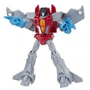 FIGURA TRANSFORMERS CYBERVERSE WARRIOR STARSCREAM HASBRO