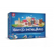 JOGO BANCO IMOBILIÁRIO COM APP 1201602800019 ESTRELA